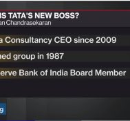 Tata Names Chief to Stabilize Group Roiled by Mistry Ouster