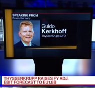 ThyssenKrupp CFO Says Growing Nicely in China