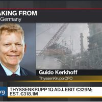 Thyssenkrupp CFO: We Have a Large Value Creation in U.S.