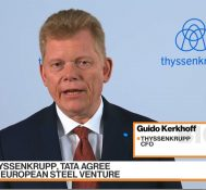 Thyssenkrupp's CFO Says Merger Creates Future for Steel
