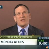 UPS CFO: Expect almost 32 million packages today