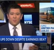 UPS CFO Richard Peretz talks earnings as shares slide