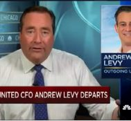 United CFO Andrew Levy departs