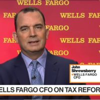 Wells Fargo Tempted to Cut Pricing After Tax Overhaul, CFO Says