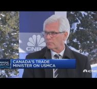 Canada's Trade Minister on new NAFTA and Canada's role in the Huawei CFO arrest – Davos 2019
