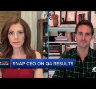 Snap CEO Evan Spiegel on Q4 earnings results, privacy