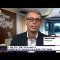Ford CFO Sees Car Prices Moderating as Supply Increases